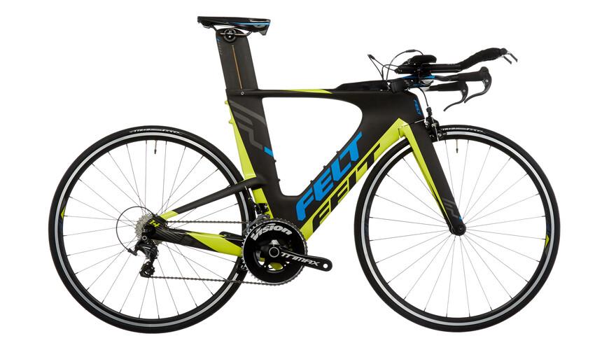 Felt IA14 - Vélo de triathlon - jaune/noir